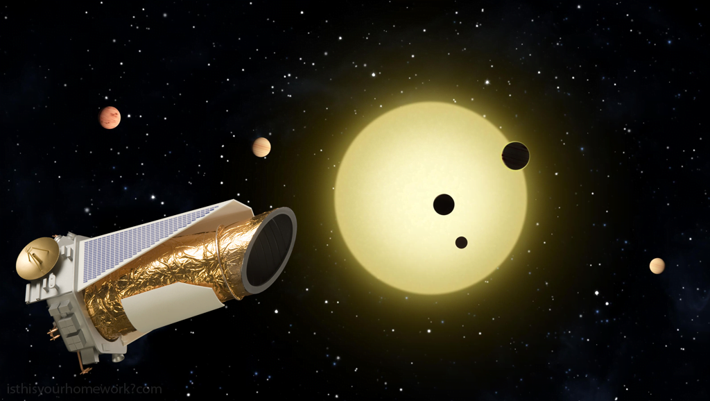 Its a very good thing spacecraft cant get bored because if spacecraft could get bored the Kepler space telescope would have gone out of its mind