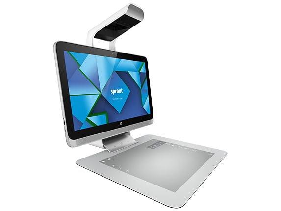Sprout il pc con un proiettore al posto della tastiera - Posto con molti specchi ...