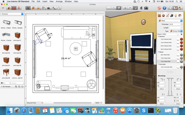 Programma per arredare in 3d nuovo disegnare la cucina in for Programma per progettare giardini 3d gratis in italiano