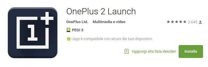 OnePlus 2 app