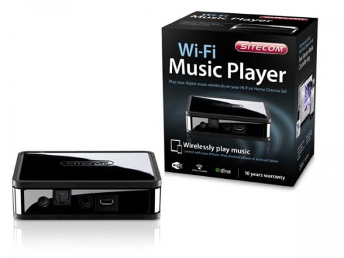 Recensione Sitecom WMA-1000 Wi-Fi Music Player