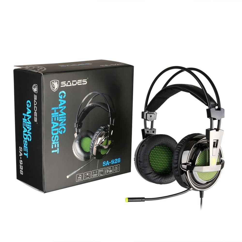 Gaming Cuffie Headset, Sades SA-928