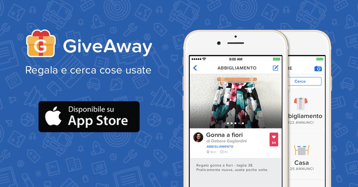 online giveaway per iphone la nuova app per chi regala
