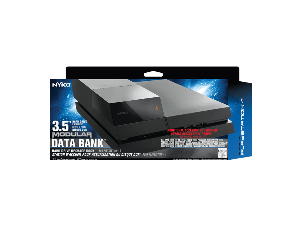 Recensione Nyko Data Bank per PS4