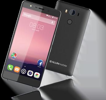 ALLINmobile presenta il suo smartphone BRAVO