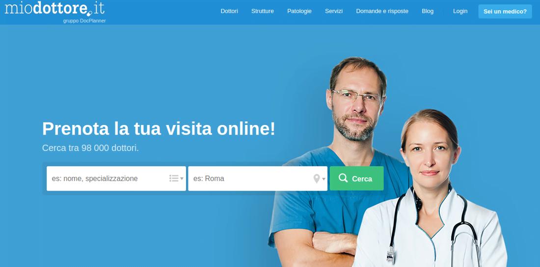 MioDottore.it porta Health 2.0 in Italia