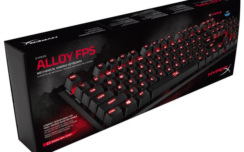 Arriva HyperX Alloy, la tastiera FPS dedicata al gaming