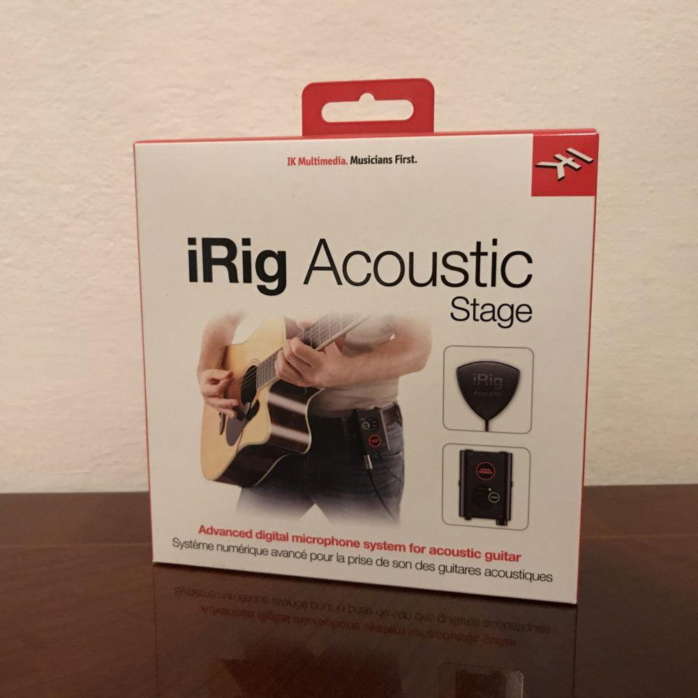 iRig Acoustic Stage, il piccolo microfono di IK Multimedia