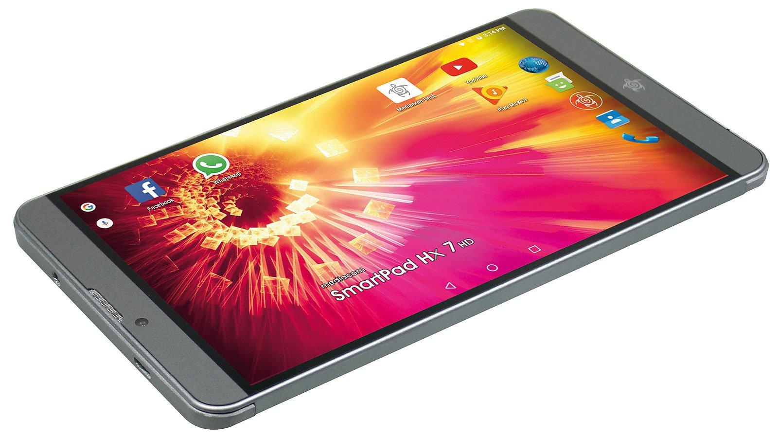 I tablet HX nascono già ricchi di contenuti e pronti per essere sempre connessi.
