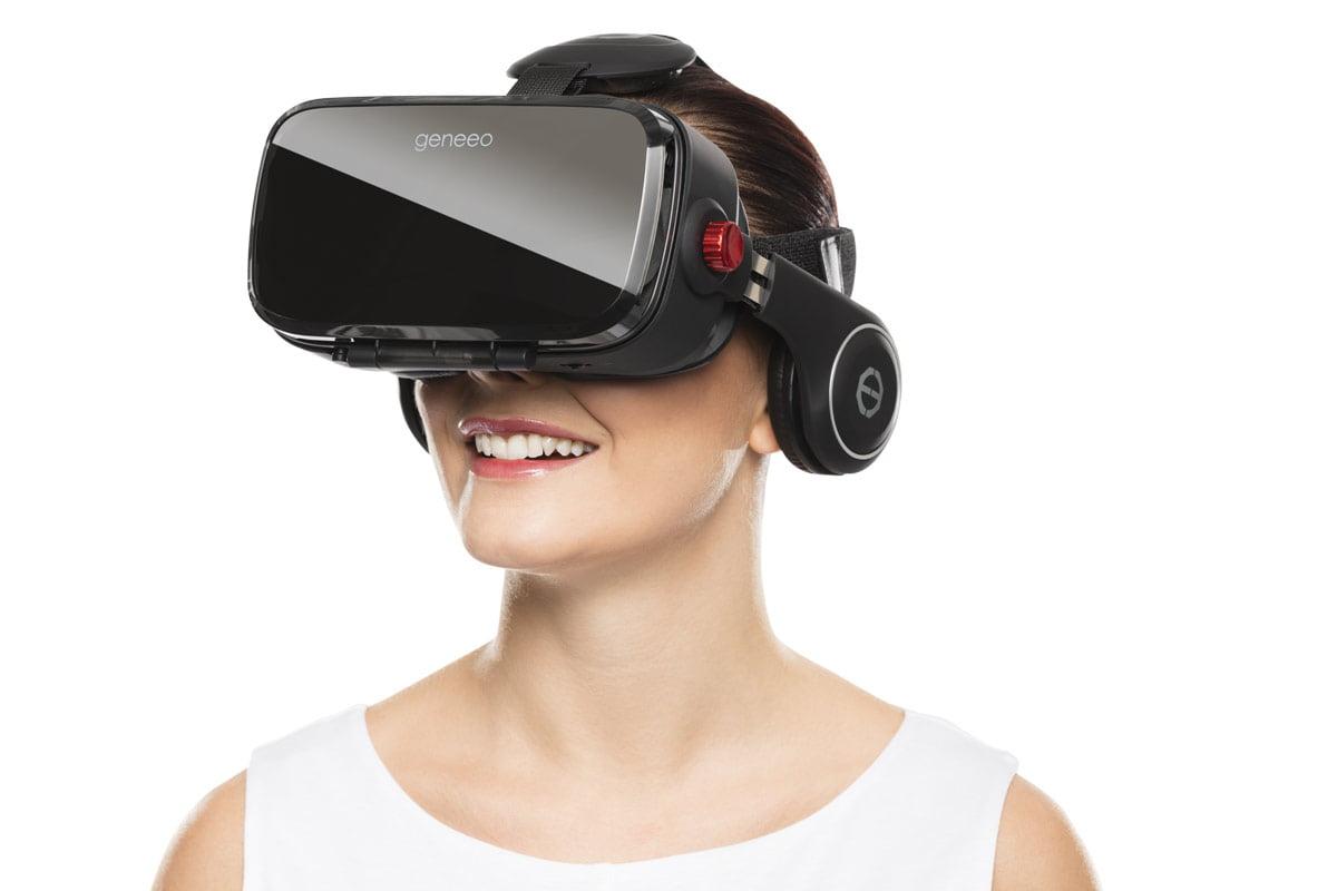 Geneeo VR offre il pieno controllo dell'esperienza virtuale