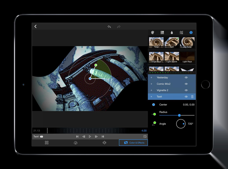 LumaFusion, l'app iOS per l'editing professionale