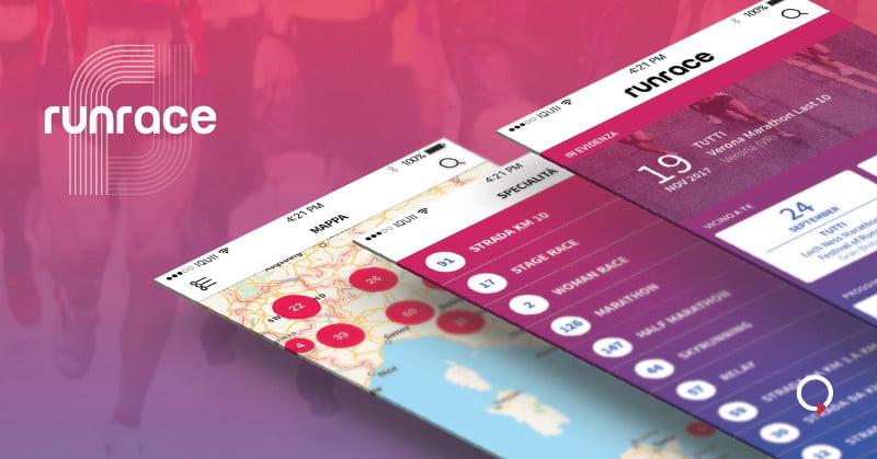 CS | RunRace App: scopri il nuovo design, vivi l'esperienza del running e non perdere nessun evento