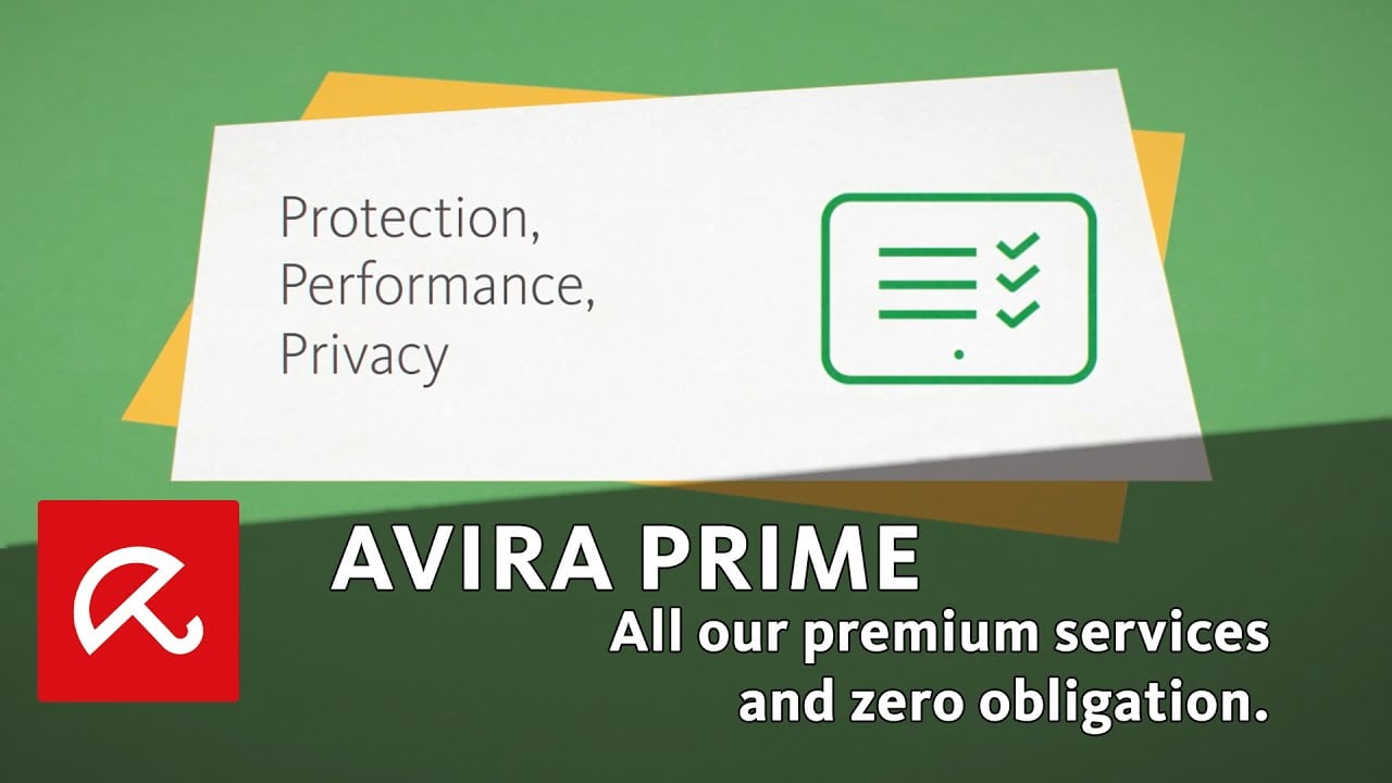 Avira Prime - Primo Prodotto All in One