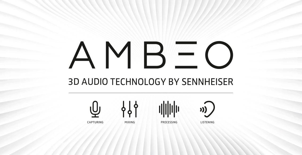 CATTURA IL TUO MONDO CON L'AUDIO 3D AMBEO SMART HEADSET di Sennheiser presenta la registrazione audio binaurale ai consumatori.