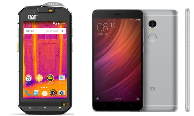 Due smartphone a confronto