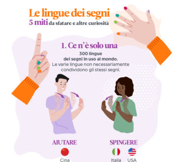 Le lingue dei segni 5 miti da sfatare in un'infografica